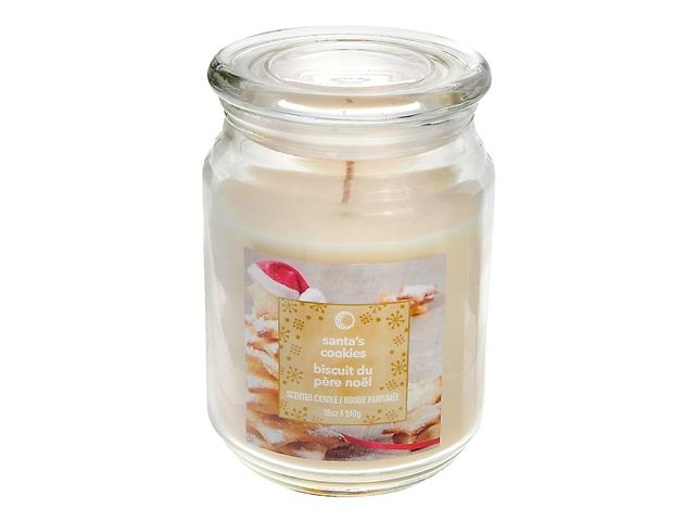 18 Oz Scented Jar Candle Santa S Cookies Ih Casadécor