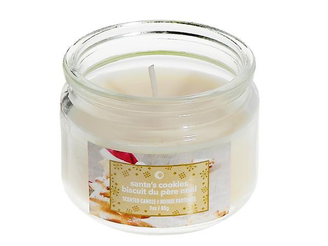 3 Oz Scented Jar Candle Santa S Cookies Ih Casadécor